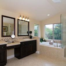 Contemporary Bathroom by Milestone Studio