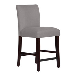 None - Made to Order Uptown Counter Stool - Add comfort and style to your kitchen or dining area with this uptown counter stool. The plush foam padding on this chair makes it a great hang out for hours.