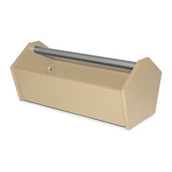 Loll Designs - Loll Designs Sand Garden Tote Toolbox - A simple caddy in a classic toolbox style, this open beige box is perfect for carrying around your garden tools or using as an eclectic modern planter in your indoor or outdoor space. The angled, hexagonal shape of the sides add to the timeless style, while the use of 100% recycled plastic brings an eco-friendly element to this piece. As a member of the 1% for the planet organization, Loll Design donates 1% of its gross sales to a worldwide network of environmental organizations. Crafted from recycled plasticRust-proof handleDurable and weather-resistant for outdoor useEasy assemblyMade in the USAShips in 6 weeks