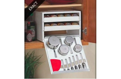 modern cabinet and drawer organizers by Organize-It