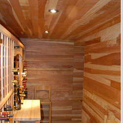 Tongue & Groove Paneling - Wine Racks America paneling is the perfect way to add that custom touch to your wine cellar space.