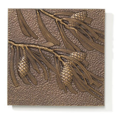 Whitehall - Pinecone Wall Decor Multicolor - 10245 - Shop for Wall Decor from Hayneedle.com! Featuring a sturdy construction of recycled aluminum the Pinecone Wall Decor - Antique Copper is a blend of style and durability. It's an ideal tile to beautifully decorate your living room or family room. Beautifully crafted with fine details it'll be an attractive focal point on your wall. Because of its rust-resistant feature this made-in-the-USA wall decor can also be used to accentuate your outdoor area. The textured background of this wall art enhances it appealing charm.About WhitehallRenowned as the world's largest manufacturer of weathervanes Whitehall Products is also recognized for its extensive line of personalized home address plaques mailboxes and garden accents such as hose holders birdbaths birdfeeders and sundials. Whitehall's home accent collection includes unique indoor/outdoor clocks thermometers and personalized doormats. Behind the legend of Whitehall artistry lies the tale of a unique craft inspired by the majestic shores and woodlands of western Michigan. It was one master wood-carver's desire to reproduce and preserve his hand-carved wood sculpture in metal depicting the grace and essence of America's natural beauty. Over 65 years later Whitehall Products still offers you the same mastery in detail with each originally designed carved and hand-cast product.