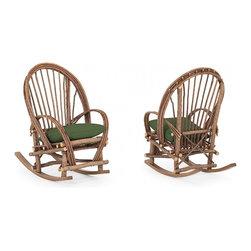 La Lune Collection - Rustic Rocking Chair #1084 by La Lune Collection - Rustic Rocking Chair #1084 by La Lune Collection