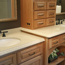 Traditional Bathroom Countertops by Attleboro Kitchen and Bath