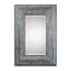 Uttermost - Galend Distressed Wood Mirror - Galend Distressed Wood Mirror