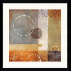 Amanti Art - Passage Framed Print by Glenys Porter - Neutral hues beautifully complement the gently geometric composition in this understated Abstract Art print. Striking and sophisticated, this piece will lend any room a contemporary flair.