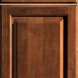 """Dura Supreme Cabinetry - Dura Supreme Cabinetry Arcadia Classic Cabinet Door Style - Dura Supreme Cabinetry """"Arcadia Classic"""" cabinet door style shown in Cherry with """"Allspice"""" finish."""
