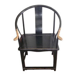 SOLD OUT! Pair of Chinese Barrel Chairs - $950 Est. Retail - $500 on Chairish.co