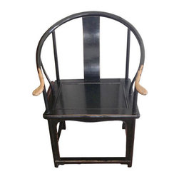 SOLD OUT! Pair of Chinese Barrel Chairs - $950 Est. Retail - $500 on Chairish.co -