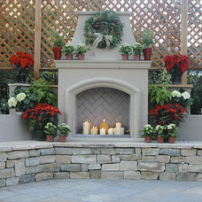 Patio by CJ's Home Decor & Fireplaces