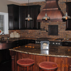Copper Range Hoods - © 2013 Copper Kitchen Specialists