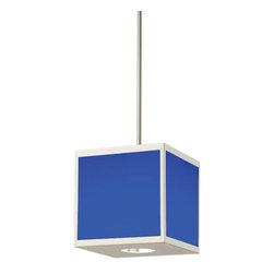Hart Lighting - Chameleon 13W LED Color Changing Cube Pendant - Chameleon 13W LED Color Changing Cube Pendant