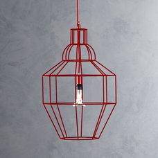 Industrial Pendant Lighting by Crate&Barrel