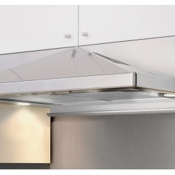 """Zephyr - Pyramid Series ZPY-E36AS290 36"""" Standard Under Cabinet Range Hood with 290 CFM I - Zephyrs Pyramid 290 CFM designer hood features a stylish design which will definitely increase the appeal of your kitchen This hood is packed with convenient features which make life a bit easier It features an adjustable back-panel utensil bar that ..."""