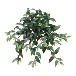 Silk Plants Direct - Silk Plants Direct Ruscus Hanging Bush (Pack of 12) - Green - Silk Plants Direct specializes in manufacturing, design and supply of the most life-like, premium quality artificial plants, trees, flowers, arrangements, topiaries and containers for home, office and commercial use. Our Ruscus Hanging Bush includes the following: