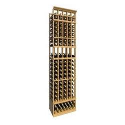 8' Five Column Display Wood Wine Rack - The 8' Five Column Display Wood Wine Rack is part of our 8' Series.
