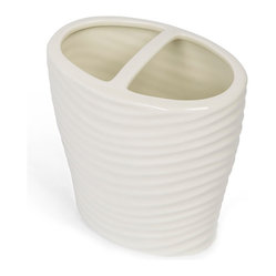 Kassatex Mojave Collection Toothbrush Holder