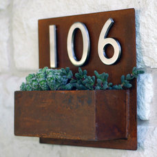 Modern House Numbers by Urban Mettle