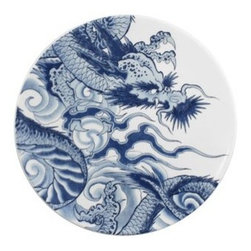 INK DISH - Ink Dish - Irezumi Side Plate - Ink Dish - Irezumi Side Plate. For Paul Timman, art and tattooing are a perfect mix. Paul is one of the leading tattoo artists in the world and recognized as a specialist in tribal and traditional Japanese designs. Now Paul is coming full circle to his start in glass and inking his world renowned designs on porcelain.