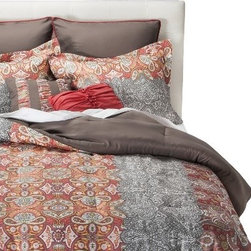 Shana 8-Piece Comforter Set - I love this kilim-inspired bedding set. And I always love Target's price points.