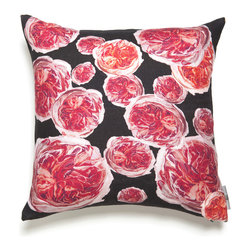 Mac Meckley - Pink Bouquet Pillow Case - Artwork is printed on Montgomery Linen
