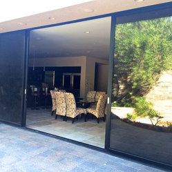 Rancho Mirage Residence Doors Fabricated By Monumental