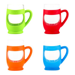 Katesplace, LLC - Kupp, Set of 4 - Can't pick just one color? No problem - buy this set and save! Your children and their friends will love choosing their favorite Kupp' at mealtime, and you can finally organize your kitchen with less plastic and less clutter!