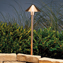 Kichler Lighting - Kichler Lighting 15439CO Copper 1 Light Pathway Lighting in Copper - This 1 light Landscape 12V Path & Spread from the Copper collection by Kichler will enhance your home with a perfect mix of form and function. The features include a Copper finish applied by experts. This item qualifies for free shipping!