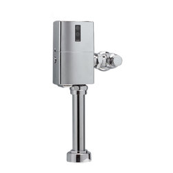 Toto - Toto TET1GNC Nickel Chrome EcoPower Toilet Flushometer Valve - Toto TET1GNC EcoPower 1.6 Gallon per flush exposed toilet flushometer valve retrofit body. The EcoPower flush valve is a Self-Generating system that does not require batteries or transformers for reduced maintenance calls. The Sensor activated flush valve is a piston operated for increased life in tough water situations. The Toto TET1GNC does not require scheduled maintenance calls and reduces continued cost to operate. Polished Chrome finish
