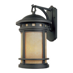 """Designers Fountain - Designers Fountain Sedona-ES Outdoor Lighting Fixture - Shown in picture: 7"""" Energy Star Wall Lantern in Oil Rubbed Bronze finish"""