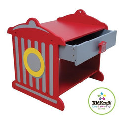 KidKraft - Fire Truck Toddler Table by Kidkraft - Our colorful Fire Hydrant Toddler Table is sure to brighten up any young boy's room. He'll love the bold colors, you'll love the convenience.
