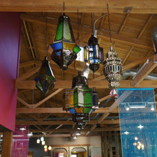 eclectic pendant lighting by De-cor