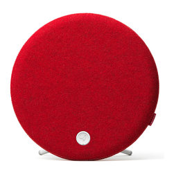 Libratone - Libratone Loop Speaker, Raspberry Red - The Libratone Loop is a versatile wireless speaker designed to give you multiple placement options around the house. You never have to worry about sacrificing style to position the speaker perfectly. Small in size, but big in functionality, it delivers breathtaking stereo sound in a compact design.