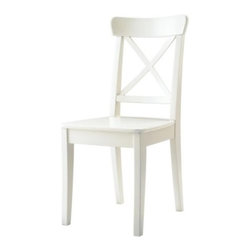 Carina Bengs - INGOLF Chair - Chair, white