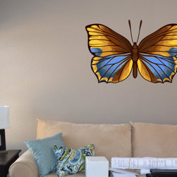 Butterfly Vinyl Wall Decal ButterflyUScolor011; 42 in. - Vinyl Wall Decals are an awesome way to bring a room to life!