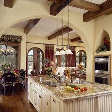 Mediterranean Kitchen by The Fechtel Company