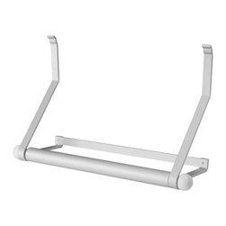 Sigga Heimis - ASKER Papertowel holder - Papertowel holder, white, aluminum