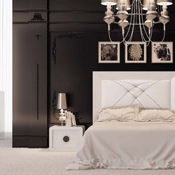 Macral Design Bedroom Krystal Collection Nª D03. Queen, Complete bedroom set