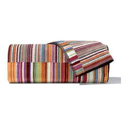 Missoni Home - Missoni Home | Jazz Orange Bath and Hand Towel 5 Piece Set - Design by Rosita Missoni.