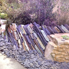 Cool use of stone to create a wall