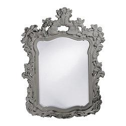 Howard Elliott - Howard Elliott Turner Glossy Nickel Mirror - Turner glossy nickel mirror