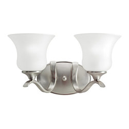 "Kichler - Kichler 5285NI Wedgeport 15"" Wide 2-Bulb Bathroom Lighting Fixture - Product Features:"