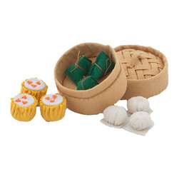 Dim Sum Play Set - I think adding in some unusual, international food play sets is essential. This dim sum felt set is so fun and could be a great way to get a child ready for a night out.