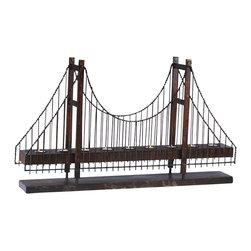 Cyan Design - Bridge Candleholder - Weight: 15lbs.