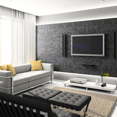 Black White Decor for Modern House Designs - Interior Design Ideas, Style, Homes