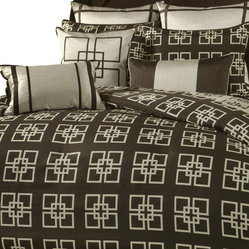 Savoy King 10-piece Comforter Set