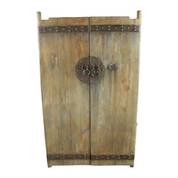EuroLux Home - Large Pair of Consigned Antique Chinese Doors Large - Product Details