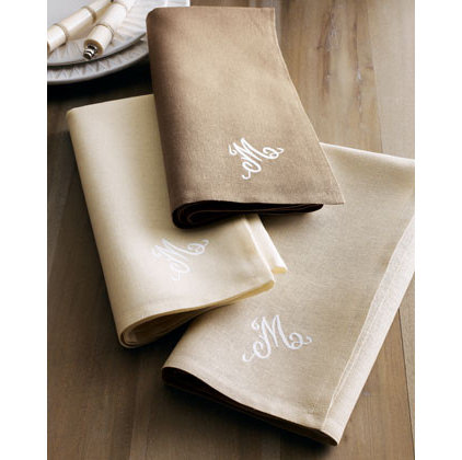 Traditional Napkins by Horchow