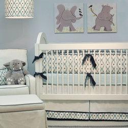Doodlefish - Joshua Crib Bedding Set - Joshua Crib Bedding Set