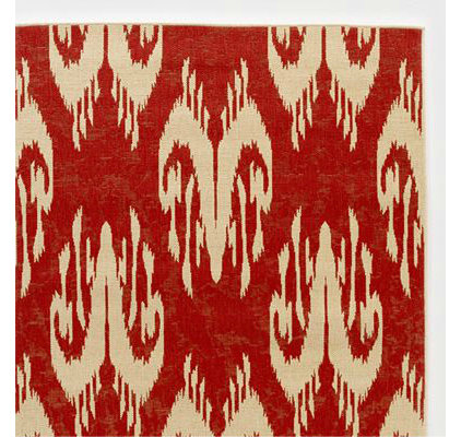 eclectic outdoor rugs by Cost Plus World Market